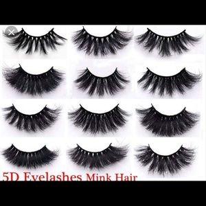 Eye lashes 8.00 each